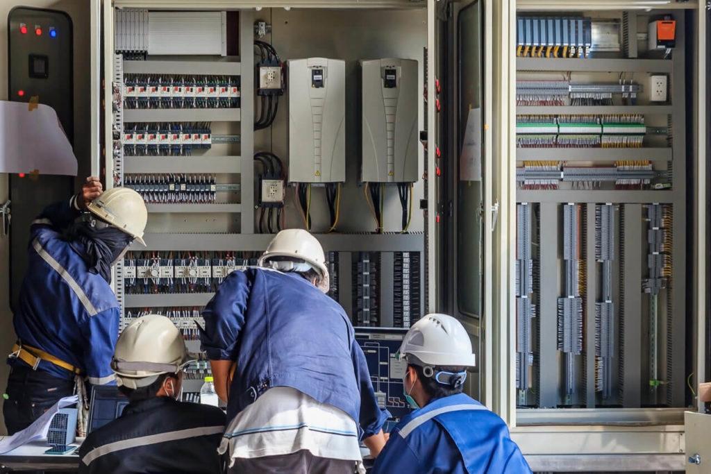programa de seguridad y gestión del sistema eléctrico en los hospitales